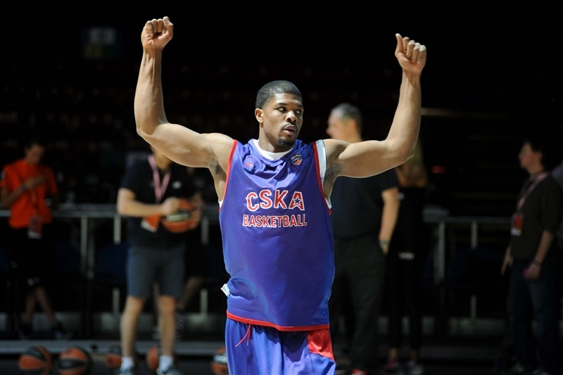 Kyle Hines of CSKA Moscow