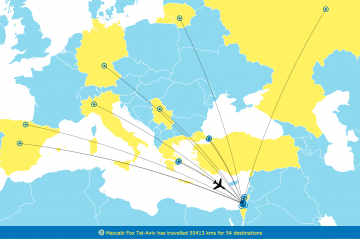 EuroLeague Travel Maps