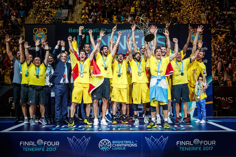 Club Baloncesto 1939 Canarias - FIBA Basketball Champions League 2017 Champions
