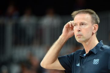 French coach Vincent Collet