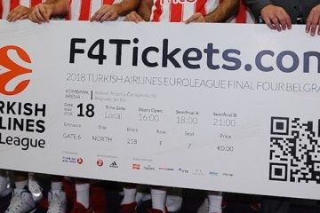 Belgrade F4 tickets website